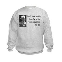 Mark Twain 1 Sweatshirt