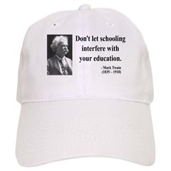 Mark Twain 1 Baseball Cap