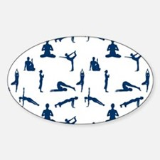 Yoga Position Decal
