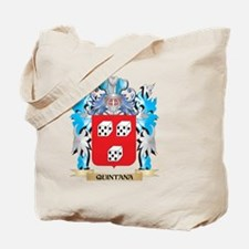 Quintana Coat of Arms - Family Crest Tote Bag