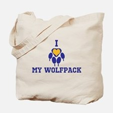 I heart my wolfpack Tote Bag