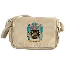 Quirk Coat of Arms - Family Crest Messenger Bag