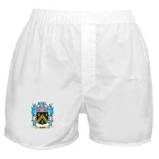 Quirk Coat of Arms - Family Crest Boxer Shorts