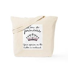 I'm a Princess Tote Bag