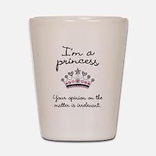 I'm a Princess Shot Glass