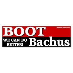 Boot Bachus Bumper Bumper Sticker