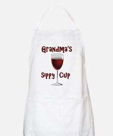 Grandma's Sippy Cup Apron
