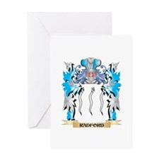 Radford Coat of Arms - Family Crest Greeting Cards