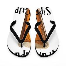 Grandpa's Sippy Cup Flip Flops