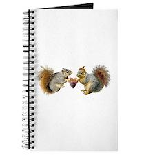 Squirrels Acorn Heart Journal