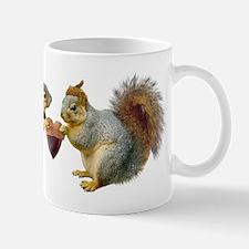 Squirrels Acorn Heart Mug