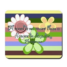 Flower Disguise Mousepad