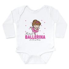 Cute Grow up Long Sleeve Infant Bodysuit