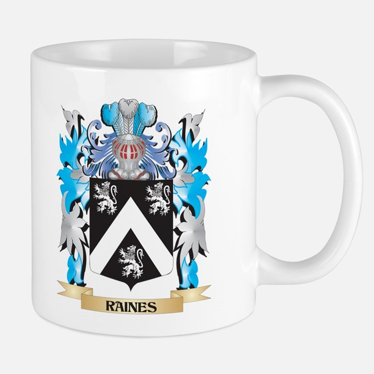Raines Coat of Arms - Family Crest Mugs