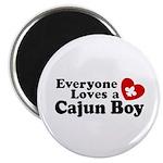 Everyone Loves a Cajun Boy Magnet