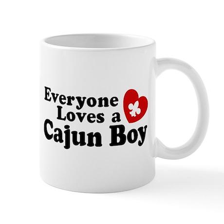 Everyone Loves a Cajun Boy Mug