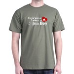 Everyone Loves a Cajun Boy Dark T-Shirt