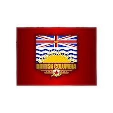 British Columbia Flag 5'x7'Area Rug