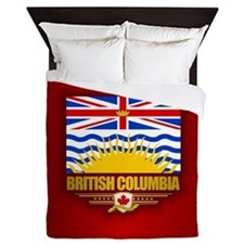 British Columbia Flag Queen Duvet