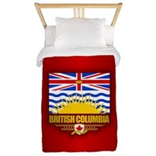 British Columbia Flag Twin Duvet