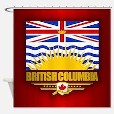 British Columbia Flag Shower Curtain