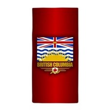 British Columbia Flag Beach Towel
