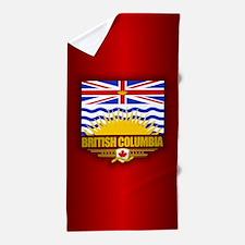 British Columbia Flag Beach Towel