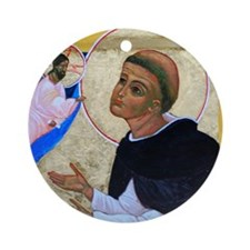 St. Dominic Ornament (Round)