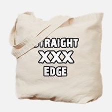 Straightedge Tote Bag