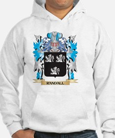 Randall Coat of Arms - Family Cr Hoodie