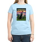 Blessed to be Free Black Lab Women's Light T-Shirt