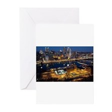 Pittsburgh CityScape Greeting Cards