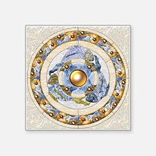 Harvest Moons Koi Mandala Sticker