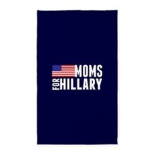 Moms for Hillary Area Rug