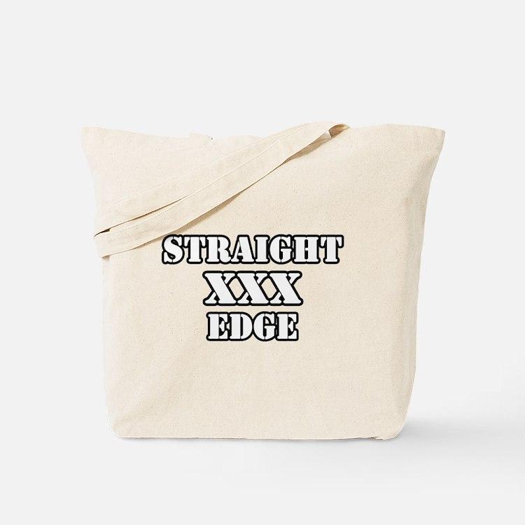 Straightedge Tote Bag