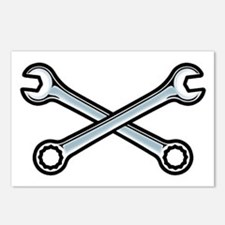Cross Wrenches Postcards (Package of 8)