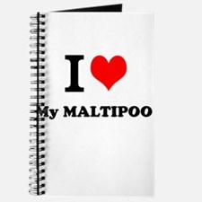 I Love My MALTIPOO Journal