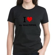 I Love My MALTIPOO T-Shirt