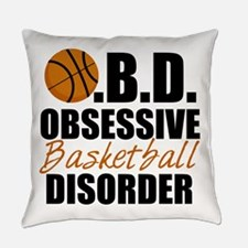 Funny Basketball Everyday Pillow