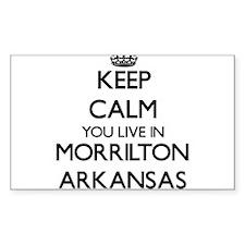 Keep calm you live in Morrilton Arkansas Decal