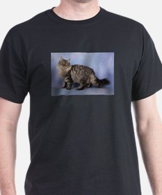siberian spotted tabby cat T-Shirt