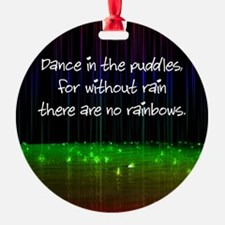 Dance In The Puddles Ornament