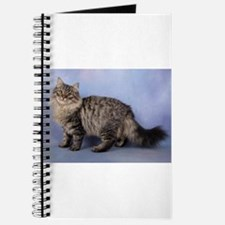 siberian spotted tabby cat Journal
