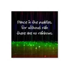 Dance In The Puddles Sticker