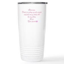 Dear Mom Travel Mug