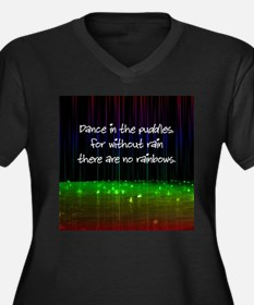 Dance In The Puddles Plus Size T-Shirt