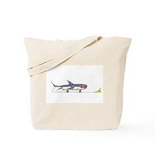 Launch Ramp Shark Tote Bag
