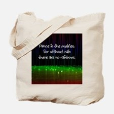 Dance In The Puddles Tote Bag