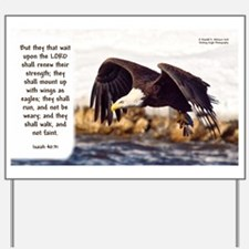 Mount on Wings as Eagles (left) - Isaiah 40:31 Yar