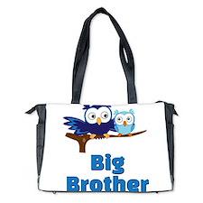 Big Brother Owl Diaper Bag